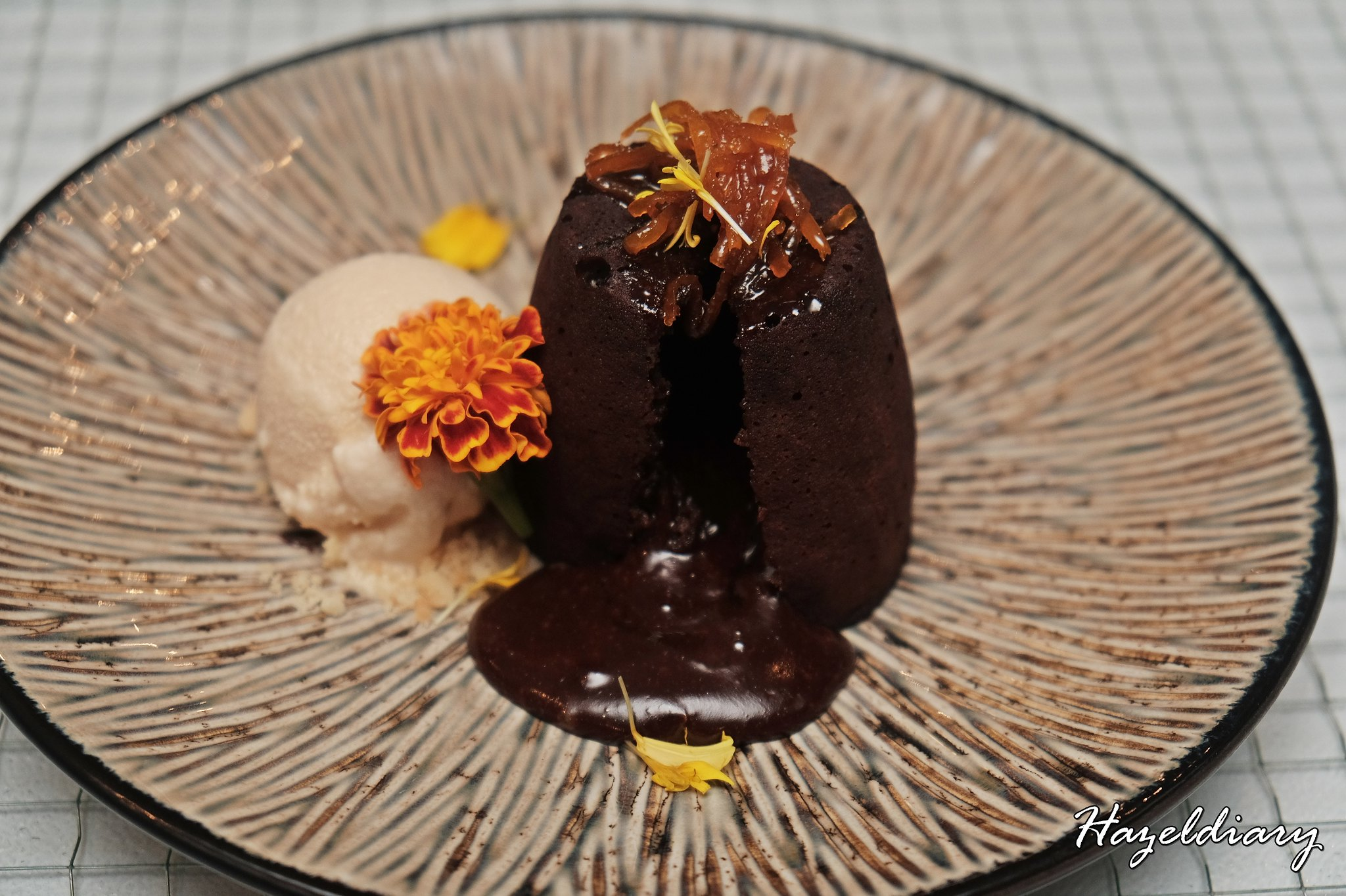 Skyve Wine Bistro-Molten Chocolate