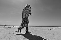 Mauritania, at the beach
