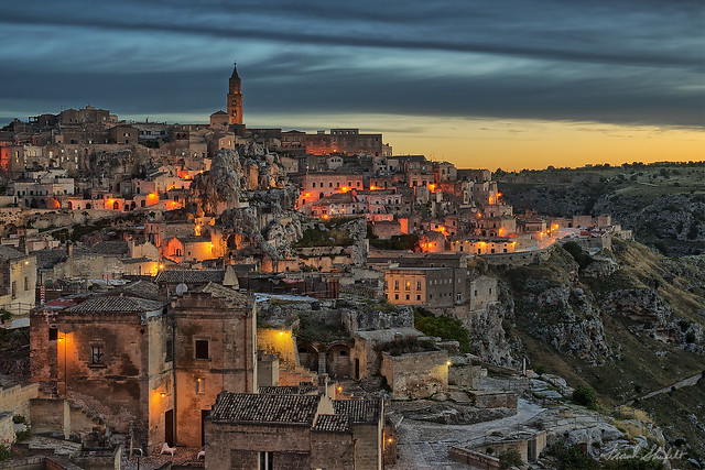 Matera at Sunrise