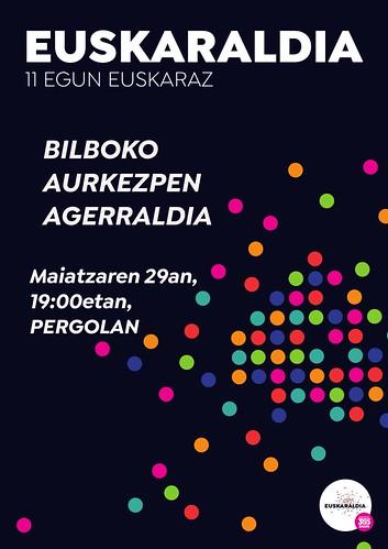 Euskaraldia- Bilboko aurkezpena