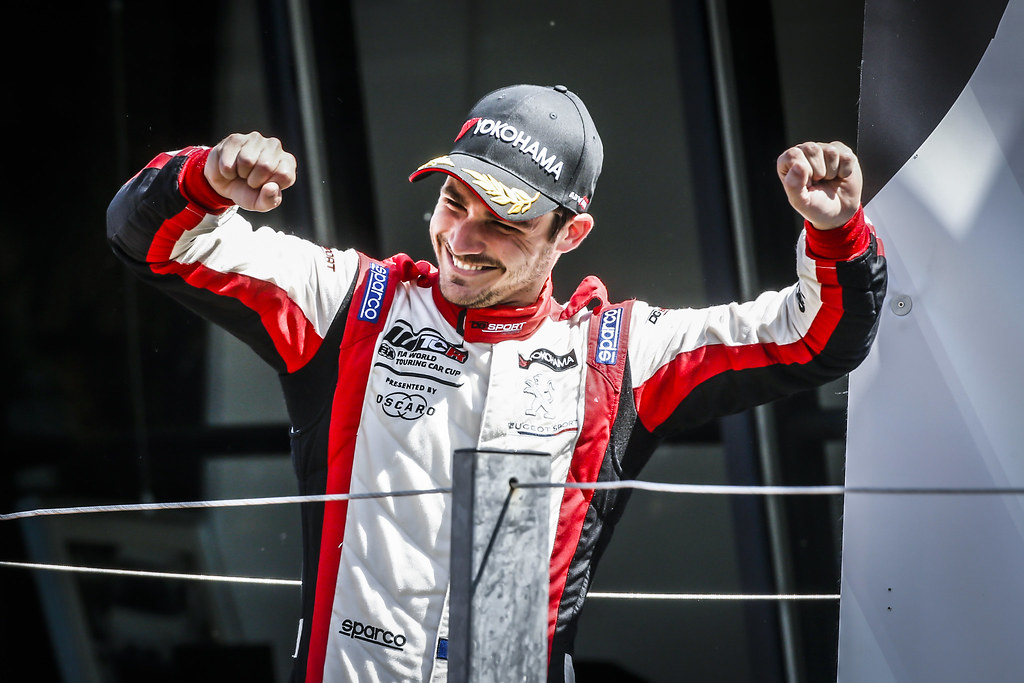 COMTE Aurelien, (fra), Peugeot 308 TCR team DG Sport Competition, portrait during the 2018 FIA WTCR World Touring Car cup of Zandvoort, Netherlands from May 19 to 21 - Photo Francois Flamand / DPPI