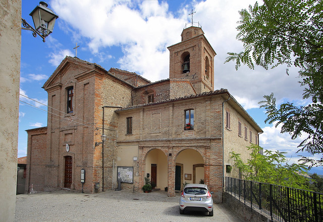 Saint Michael Archangel is the church of Montefalcone