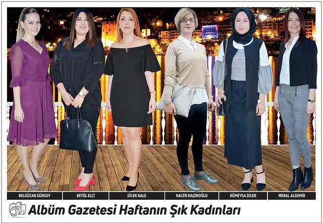 Belgüzar Gürsoy, Betül Elçi, Dilek Kale, Hacer Haşimoğlu, Rumeysa Diler, Meral Aldemir