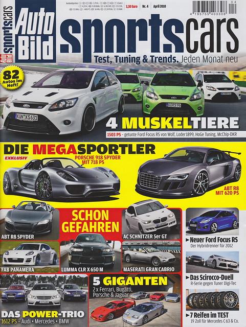 Auto Bild Sportscars 4/2010