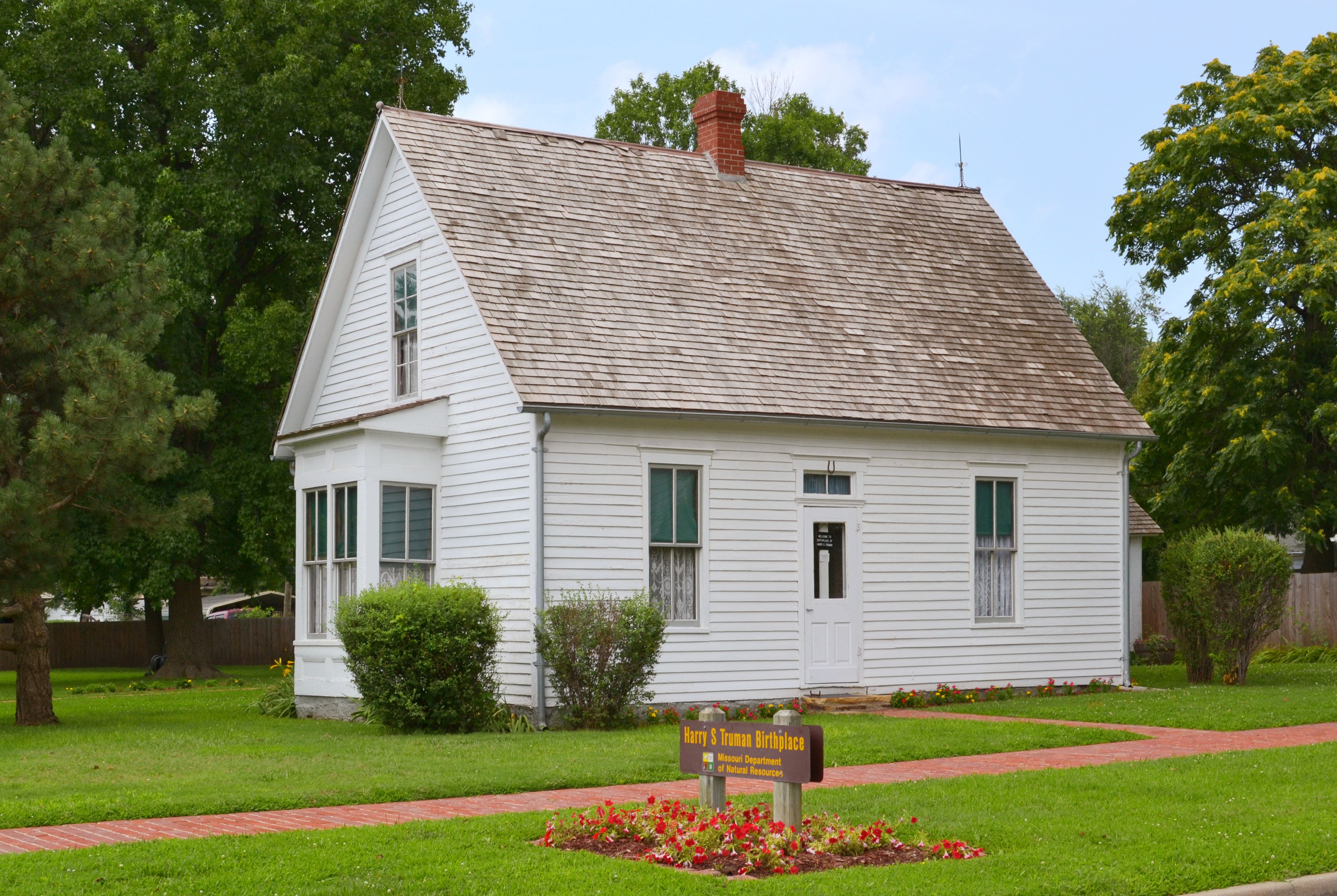 Harry S Truman Birthplace State Historic Site in Lamar, Missouri. Photo taken on July 15, 2015.
