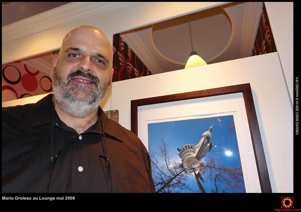 Mario Groleau au Lounge mai 2008