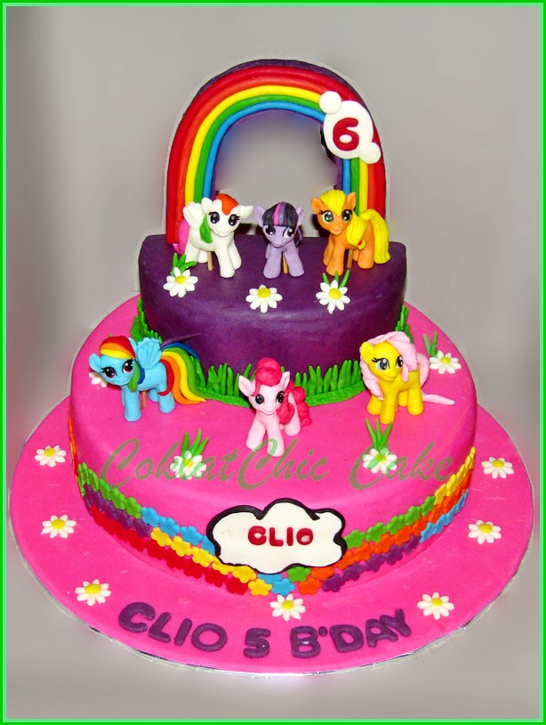Cake My Little Pony CLIO 22 cm