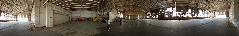 WWII-era Liberator Hangar and former Beechcraft Paint Booths
