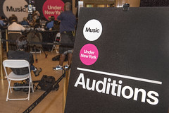 2018 Music Under New York auditions