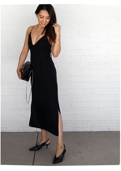 Grana Silk Slip Dress
