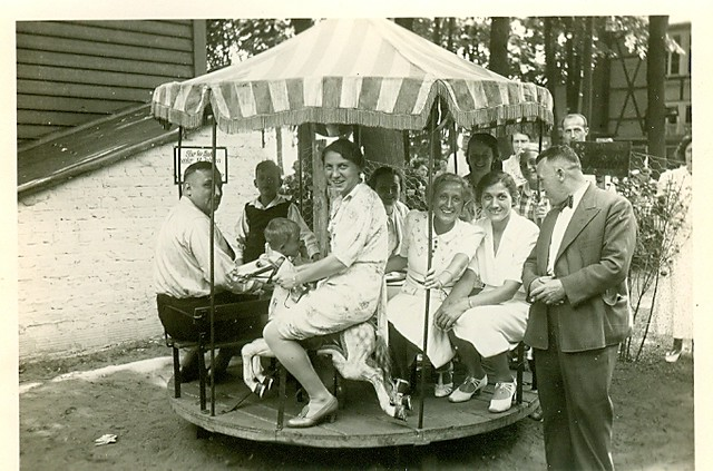 Backyard carousel