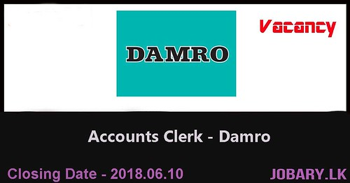 Accounts Clerk – Damro
