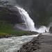 The lower Krimml waterfall