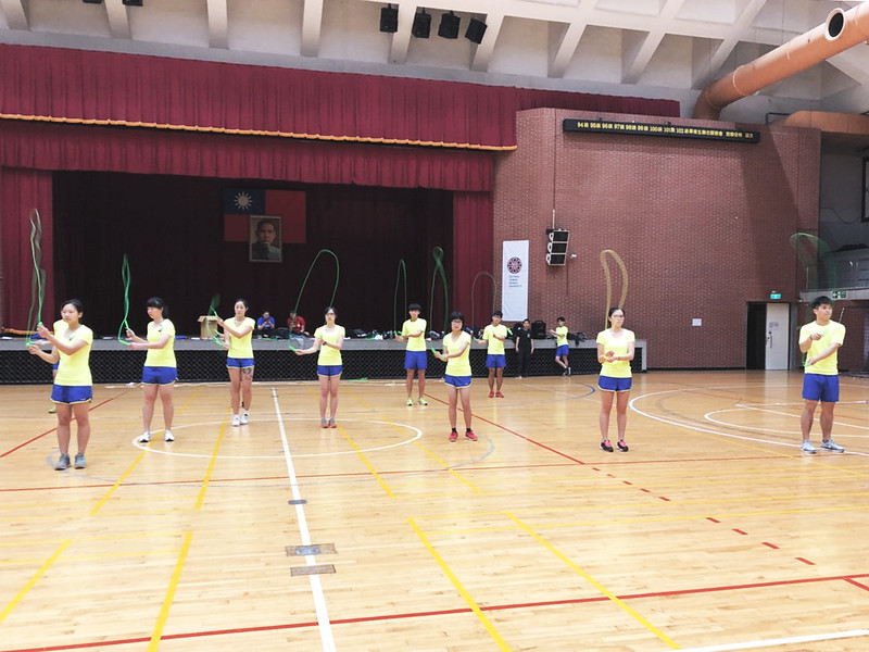 02 跳繩高協調性的動作需求相當考驗技術。照片/冉晴云提供