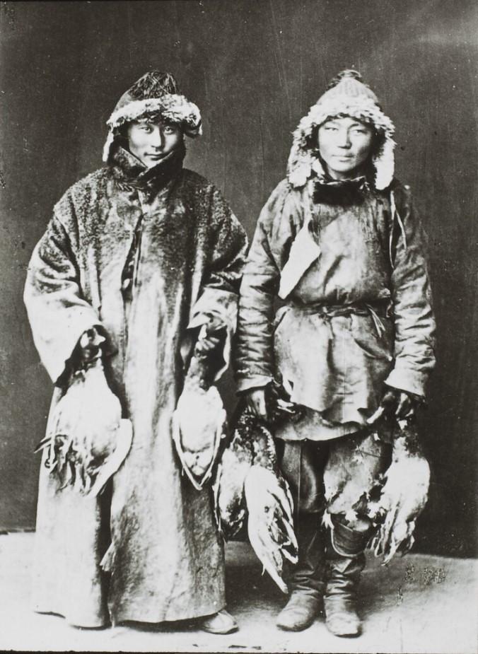 Бурятские охотники