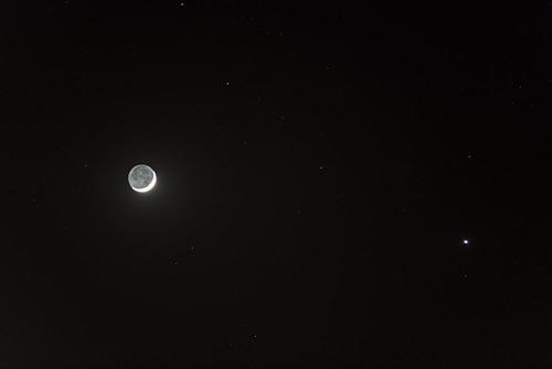Moon and Venus Conjunction