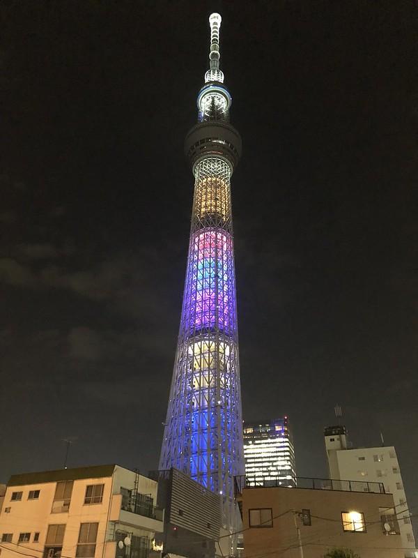 iPhone X - Tokyo Skytree