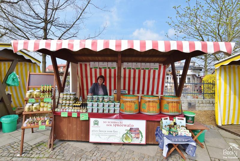 Pickle stalls at Lubbenau , Spreewald - Brandenburg