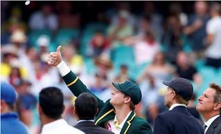 Cricket coin toss