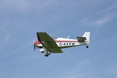 G-AXXW Jodel D117 (632) Popham 040514