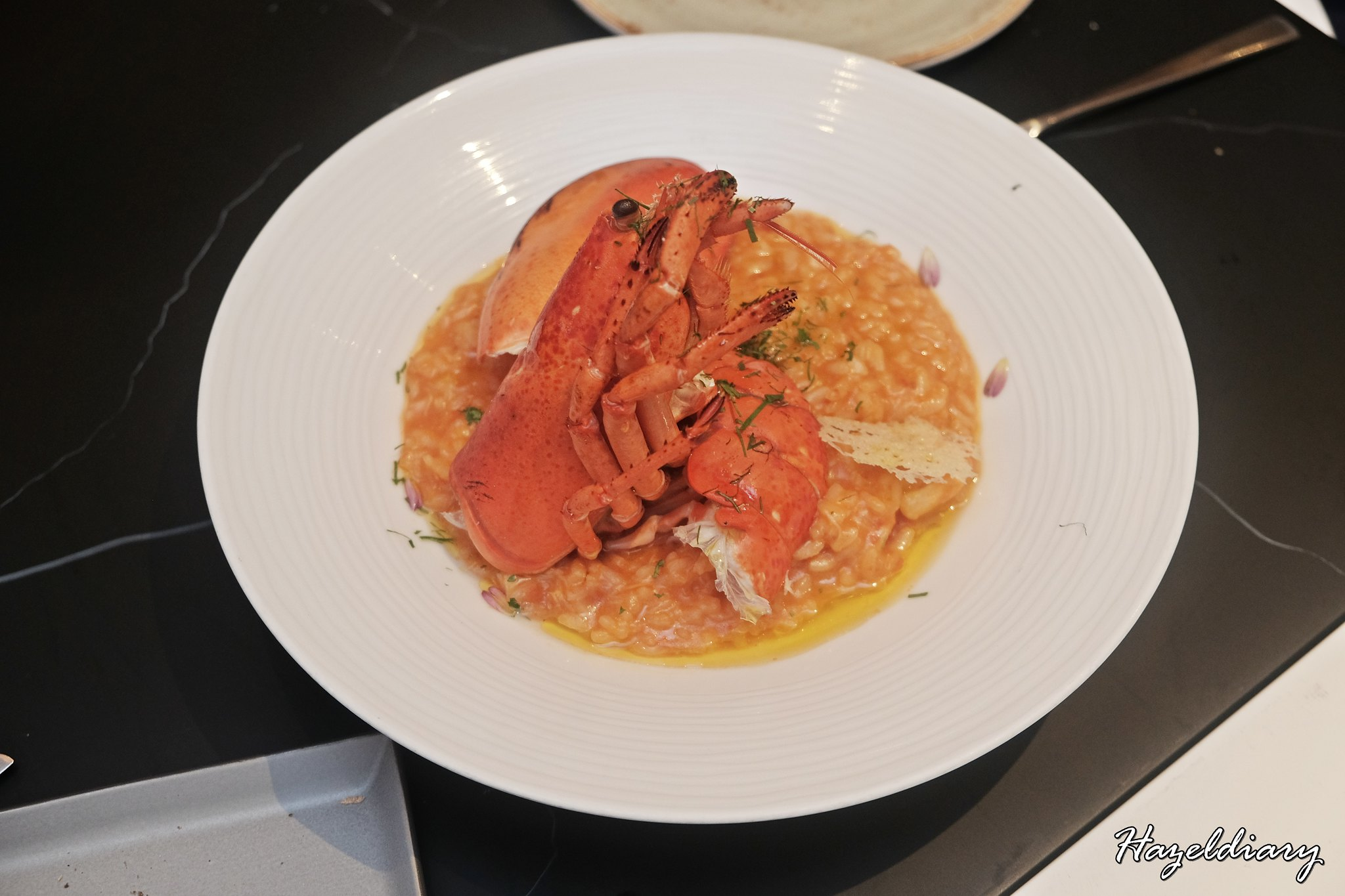 caffe B-Risotto Lobster Singapore