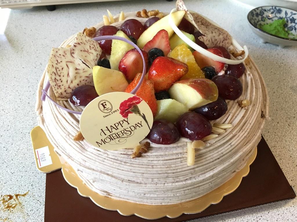 方師傅母親節蛋糕