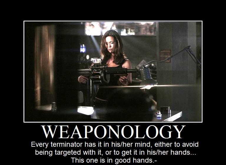 Summer Glau tscc weaponology plasma