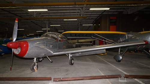 midamerica museum airplane aviation aircraft aeroplane liberal kansas usa north american na145 navion n4005k l17a air johnny comstedt