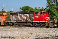 CN 5295 | EMD SD40-2W | CN Memphis Subdivision
