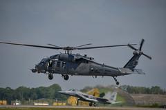 HH60 Pavehawk's Farewell at RAF Lakenheath