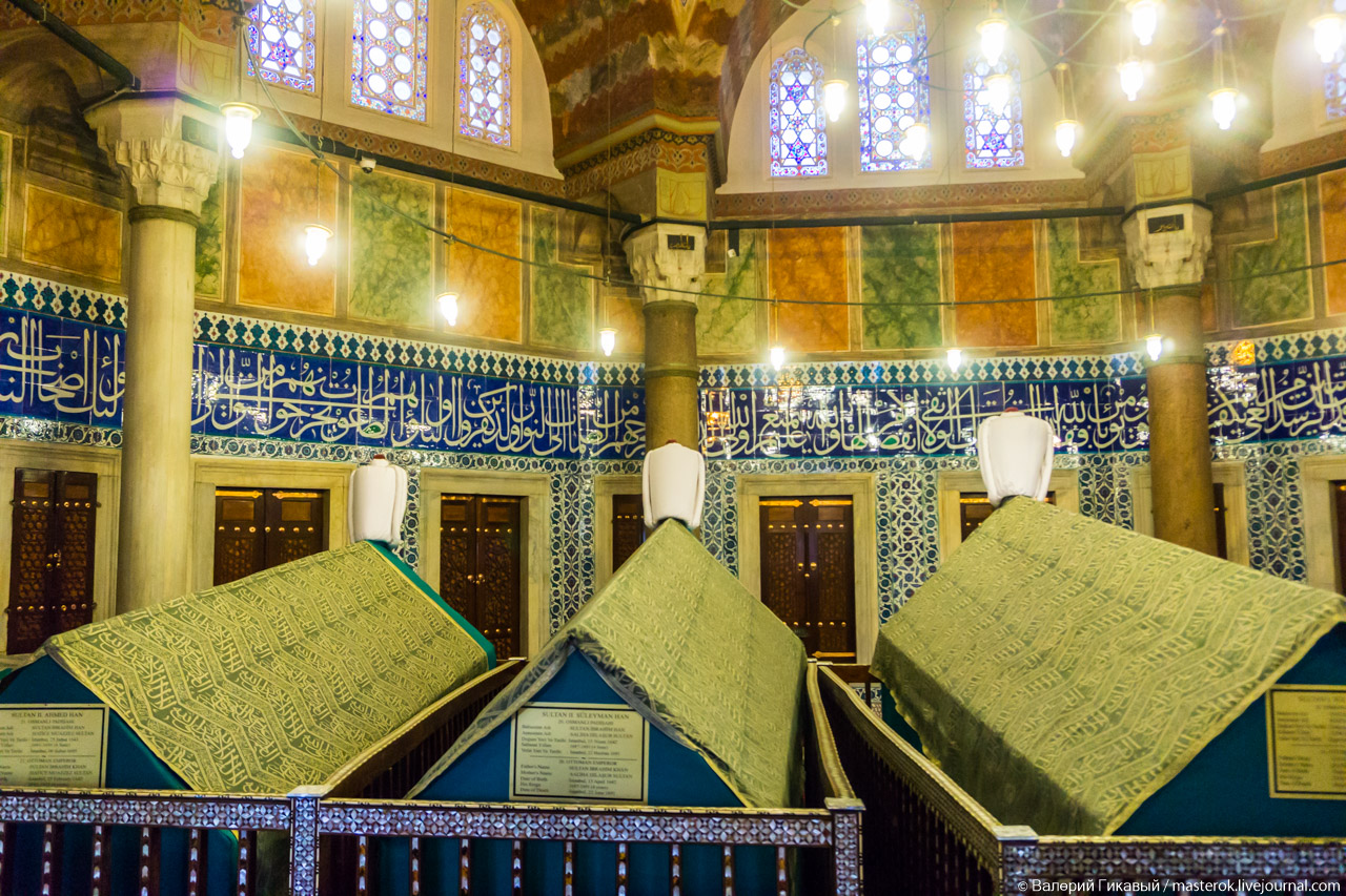 вакф хюррем султан в стамбуле фото
