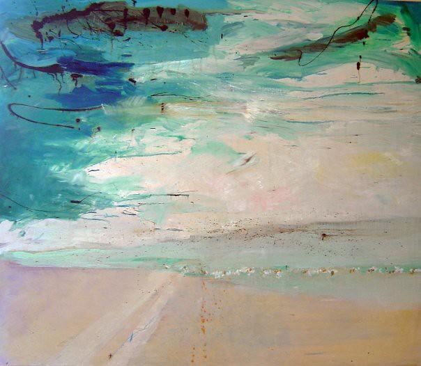Uyuni - 103x121 cm. Oil on canvas 2008