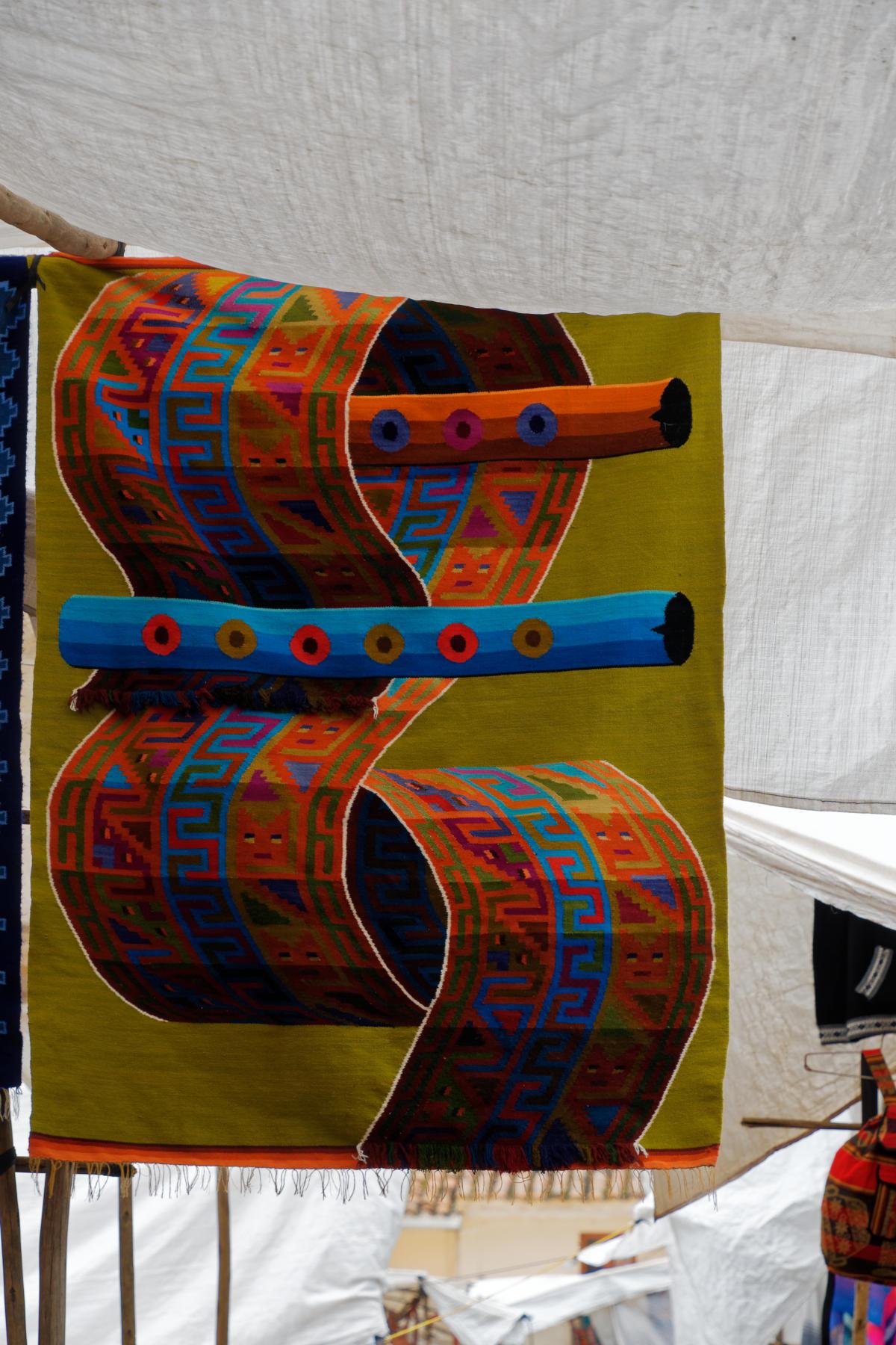 Pisac - pattern weaving