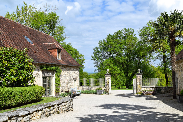 Spring at Manoir de Malagorse, France #hotel #travel #france
