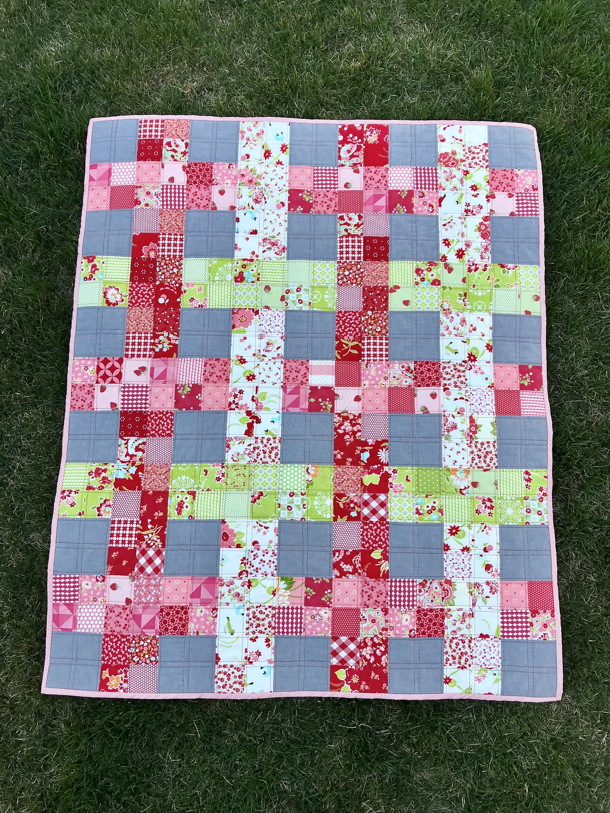 Miranda's On the Fence Quilt