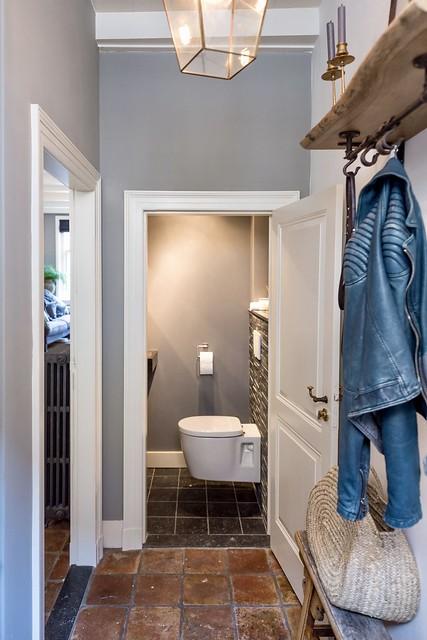 Hal toilet landelijke stijl