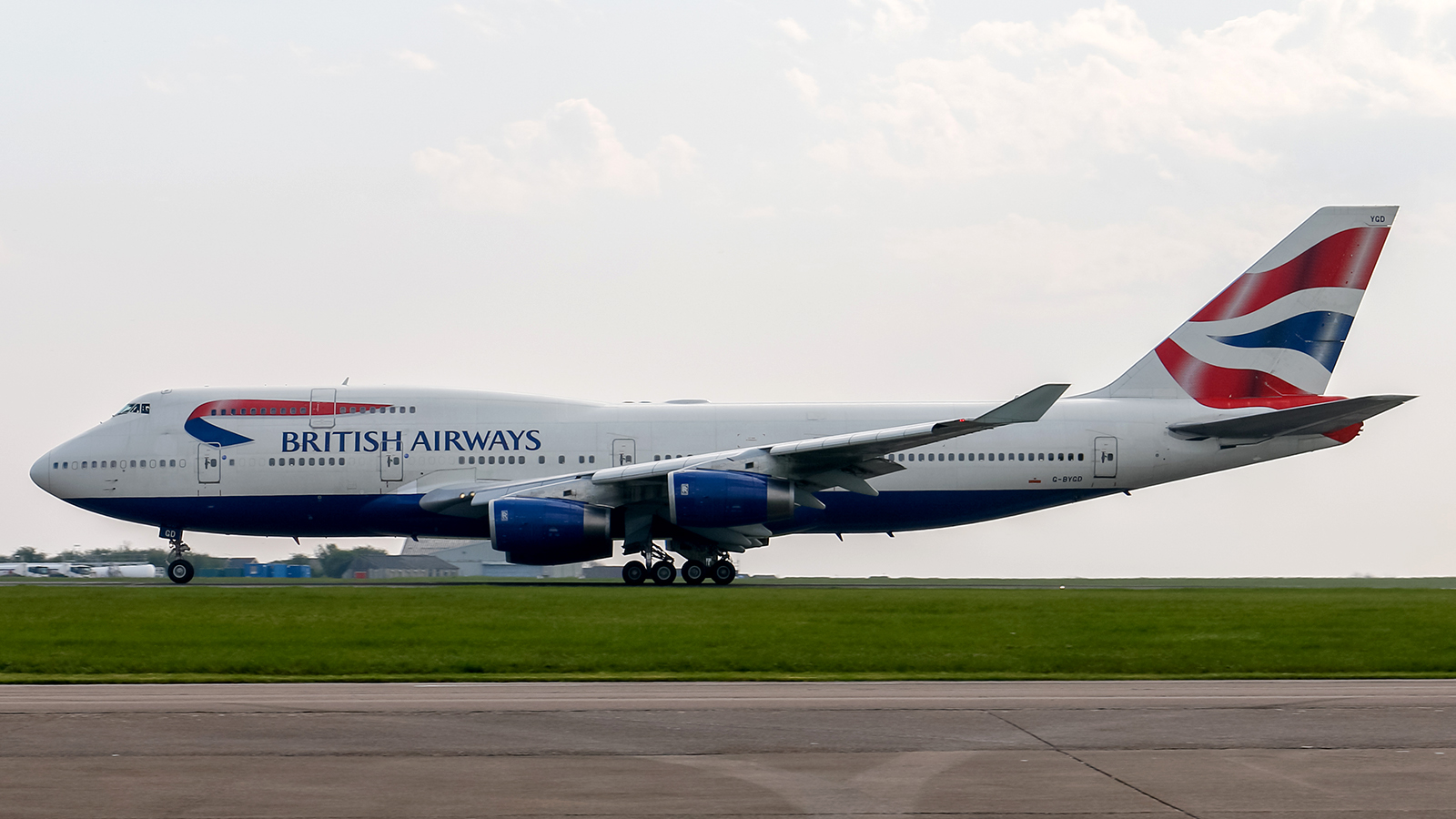 British Airways Boeing 747-400 G-BYGD