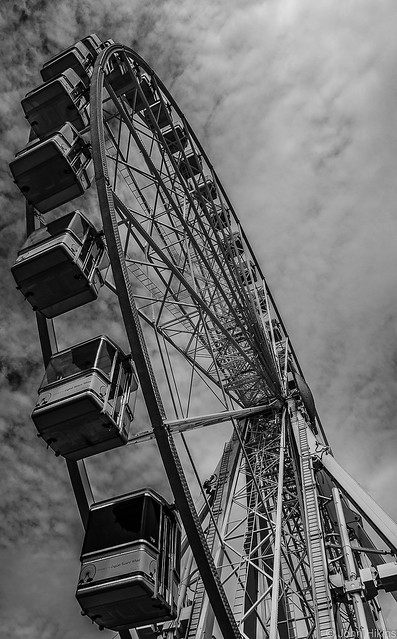 The big wheel at Torquay seafront