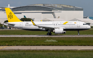 1st Airbus A320 NEO Royal Brunei