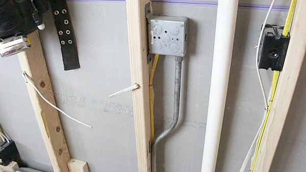 Schluter Ditra Heat Sensor Wire Routing Inside Conduit Or
