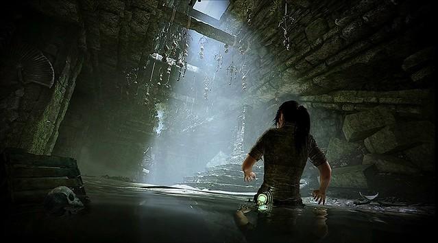 무덤 침입자의 그림자 - 물 무덤