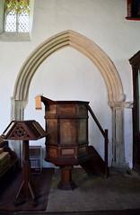 pulpit, lectern, arch