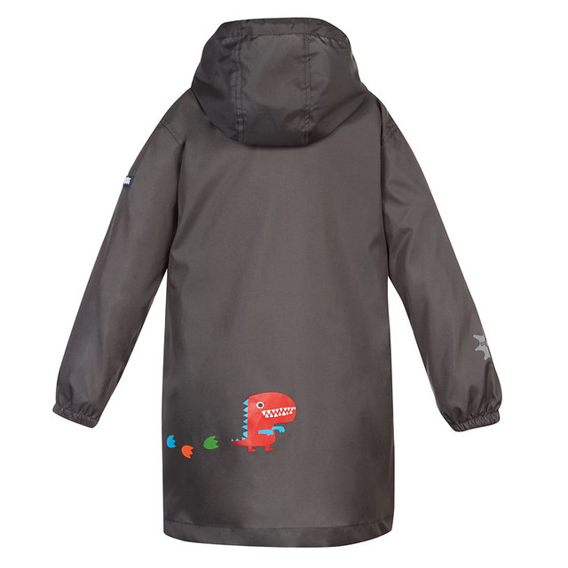 SquidKids_RainJacket_Back_Dino_dry