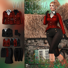 NEW! Valentina E. Miriam Ensemble For Pocket Gacha!