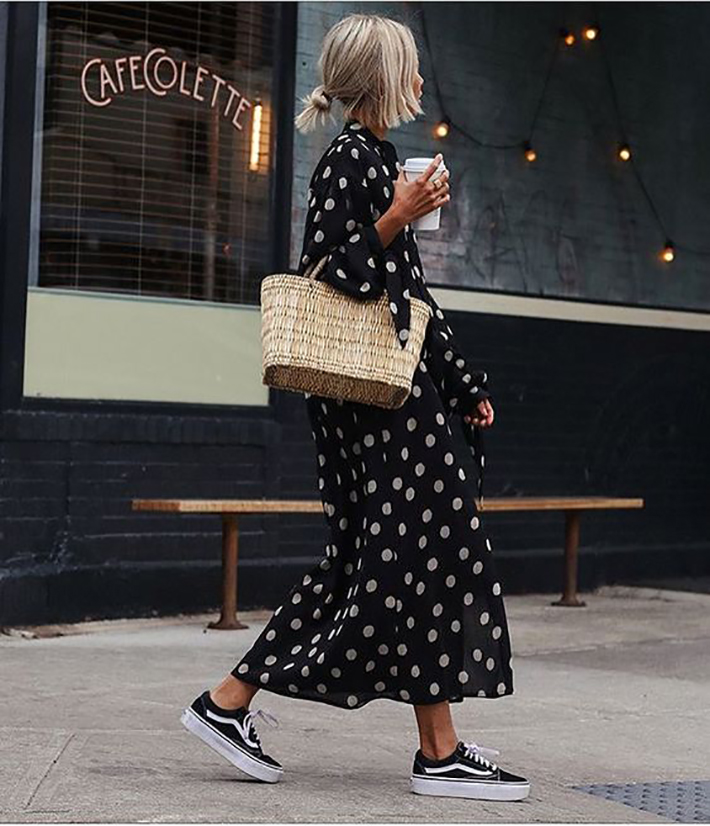Polka dots trend Outfit Ideas for Spring 2018 style fashion tendencias primavera1