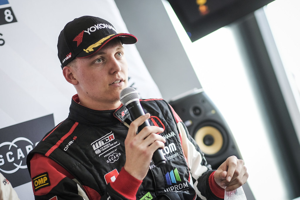 EHRLACHER Yann, (fra), Honda Civic TCR team ALL-INKL.COM Munnich Motorsport, portrait during the 2018 FIA WTCR World Touring Car cup of Zandvoort, Netherlands from May 19 to 21 - Photo Francois Flamand / DPPI