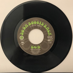 ECD:DO THE BOOGIE BACK(RECORD SIDE-B)