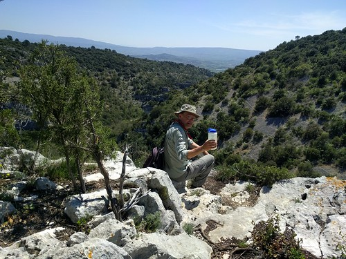 Walking in the Luberon Valley, France