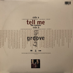 GROOVE THEORY:TELL ME(REMIXES)(JACKET B)