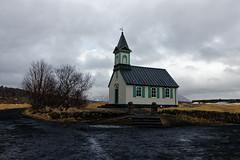 Chruch at Þingvellir, Iceland